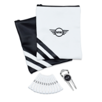 PREMIUM ZIPPED LEATHERETTE EMBROIDERED GOLF GIFT BAG 2