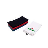Embroidered Waffle Tri-fold Towel (with No Limit On Stitches)