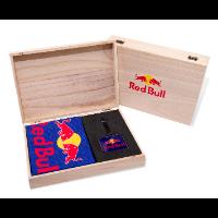 WOODEN BAG TAG GOLF PRESENTATION GIFT BOX