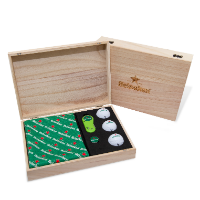 WOODEN FLIX LITE GOLF PRESENTATION GIFT BOX