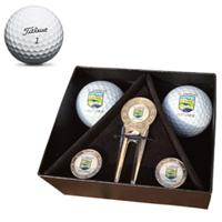 Titleist Pro V1 Sunningdale Gift Box