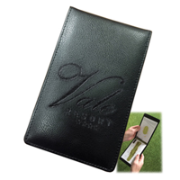 Embossed Leather Course Planner Holder