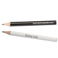 Golfer's Wooden Pencil