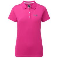 Footjoy Women's Short Sleeved Pique Shirt