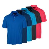 Greg Norman Self Fabric Collar Tonal Stripe Shirt