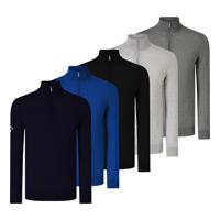 Callaway Ribbed 1/4 Zip Merino Sweater