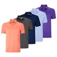 Callaway Denim Jacquard Polo Shirt