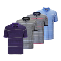 Callaway 3 Colour Stripe Polo