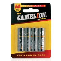 4 Batteries Pack 1,5V Aa/ R06