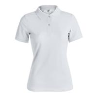 Women White Polo Shirt