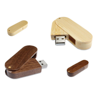 Wooden Rotating USB