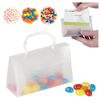 Sweets In A Perspex Bag With Card Slot