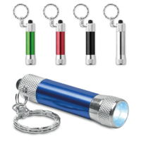 Mini Aluminium Torch Keyring