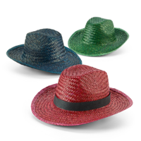 Coloured Straw Sun Hat