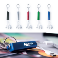 Laser Engrave Charger Cable Keyring