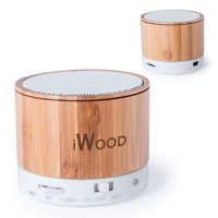 Bailey Bamboo Bluetooth Speaker