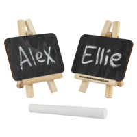 Mini Chalkboard Easel