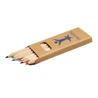 Short Coloured Pencil Set