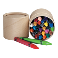 Wax Crayon Tub