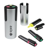 Triple Highlighter Pen Pot