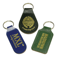 Eco Colour Leather Key Ring