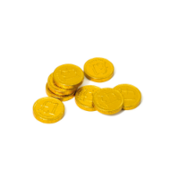 Money Box Tin Chocolate Coins