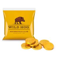 Flow Bag Chocolate Coins DP