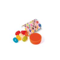 Clear Tube Mini - Jolly Beans