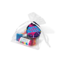 Organza Bag - Retro Sweets