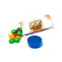Clear Tube Midi - Skittles