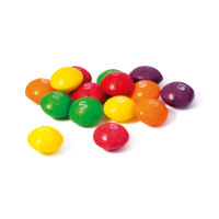 Clear Tube Mini - Skittles