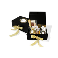Christmas Midi Luxury Chocolate Gift Box Mini Champagne Bottle