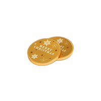 75mm Chocolate Medallion