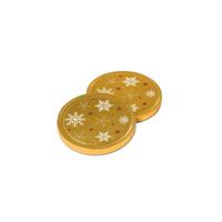 38mm Chocolate Medallion