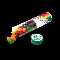 Clear Tube Maxi - Skittles