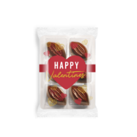 Valentines – Flow Wrapped Tray - Cocoa Bean Truffles