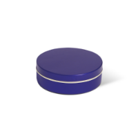 XS Peppermint Tin - Blue - Dome Label