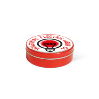 XS Peppermint Tin - Red - Dome Label