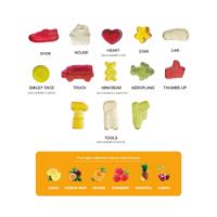 Eco Kraft Cube - Kalfany Fruit Gums - 40g