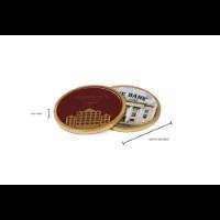 Chocolate Medallion - 125mm