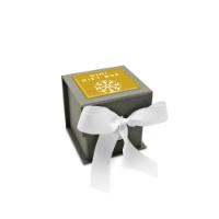 Mini Grey Gift Box - Grey Kraft