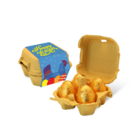 Easter – Egg Box - Gold foiled egg - x4