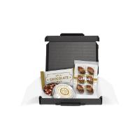 Gift Boxes – Mini Black Postal Box - Chocolate Edition