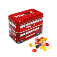 Bus Tin The Jelly Bean Factory Jelly Beans