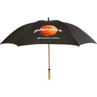 Spectrum Sport Wood Double Canopy Umbrella