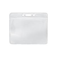 Top loading Soft PVC Card Holder, landscape 100X81mm