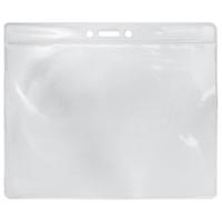 Top loading Soft PVC Card Holder, landscape 156X128mm