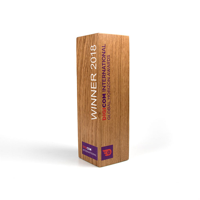 Real Wood Column Award, small