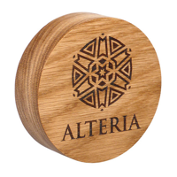 Full Colour Real Wood Paperweights