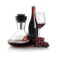 Aerato red wine carafe, black